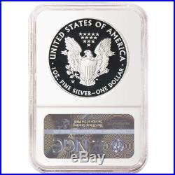 2020-W Proof $1 American Silver Eagle NGC PF70UC FUN Show FDI First Label