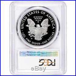 2020-W Proof $1 American Silver Eagle PCGS PR70DCAM FDOI Flag Label