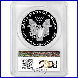 2020-W Proof $1 American Silver Eagle PCGS PR70DCAM FDOI West Point Label