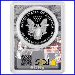 2020-W Proof $1 American Silver Eagle PCGS PR70DCAM First Strike Apollo Frame