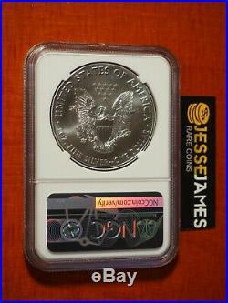 2020 (p) Silver Eagle Ngc Ms70 Er Emergency Issue Struck At Philadelphia Mint