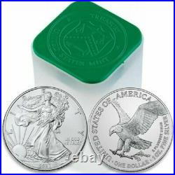 2021 1 oz Silver American Eagle Coin Roll of 20 TYPE 2 PRESALE