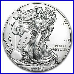 2021 1 oz Silver Eagles (20-Coin MD Premier + PCGS FS Tube) SKU#218590