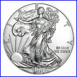 2021-(S) 1 oz American Silver Eagles (20-Coin MintDirect Tube) SKU#227286