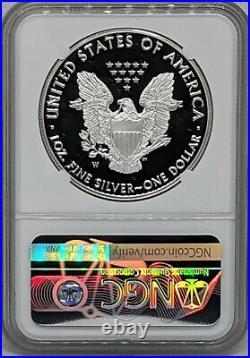 2021 W Silver American Eagle NGC PF70 Ultra Cameo Heraldic Eagle T-1