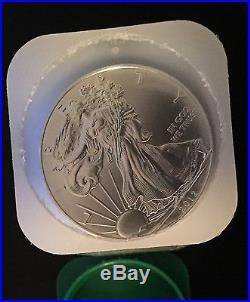 20 x 1oz 2012 Silver American Eagles, unc, ! 00% UK Seller in MINT tube