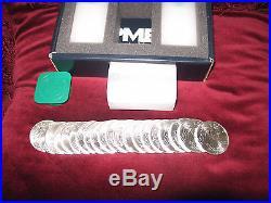 3 Rolls (60 coins) $1 Silver American Eagles 2015 1 oz silver coins (BU!)