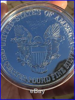 4 oz 2013 999 Silber Silver Eagle m. Box & CoA m. Zertifikat NEU sehr SELTEN