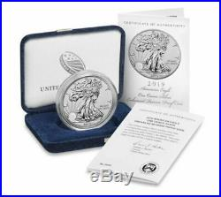 American Eagle 2019-S 1 Ounce Silver Enhanced Reverse Proof Coin UNOPENED