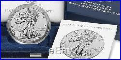 American Eagle 2019 S One Ounce Silver Enhanced Reverse Proof Coin COA# 5542