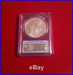 American Eagle 25th Anniversary Silver Coin Set. 999 Pure Silver PCGS Reduced