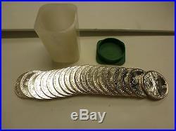 Beautiful original complete ROLL of (20) BU 1988 American Silver Eagles #2