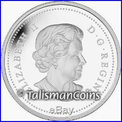 Canada ERROR 2013 Bald Eagle Portrait of Power $20 Silver MISSING EDGE LETTERING