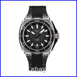 Certina Men's C0237102705100 DS Eagle 44mm Black Dial Rubber Watch