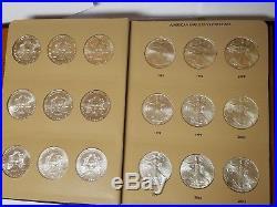 Complete 1986-2018 American Silver Eagle 33 Coin Set. BU UNC! In Dansco Album