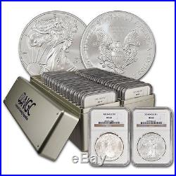 Complete NGC MS 69/70 Silver Eagle Set 1986-2015