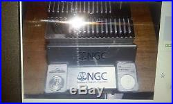 Complete Set 1986-2016 United States American Silver Eagles, 31 Coins NGC MS 69