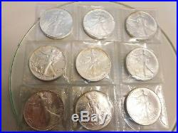 Complete Set Of American Eagle Silver Dollars 1986-2015 (30) 1oz