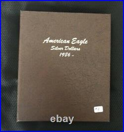 Complete Set Of American Silver Eagles 1986 To 2020 35 Coins Bu Or Better-#4
