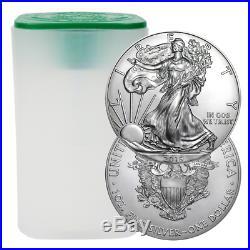 Daily Deal Lot of 60 2019 $1 American Silver Eagle 1 oz Brilliant Uncirculat