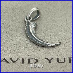 David Yurman 925 Sterling Silver Southwest Eagle Talon Claw Amulet Pendant Only