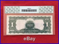 FR-236 1899 Series $1 Silver Certificate $1 Black Eagle PCGS 35 Choice VF