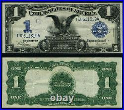 FR. 236 $1 1899 Silver Certificate Extra Fine Black Eagle