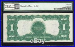 GEM 1899 $1 Silver Certificate BLACK EAGLE PMG 65 EPQ Fr 233 V73472809V
