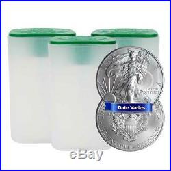 Lot of 60 $1 American Silver Eagle 1 oz Random Year Brilliant Uncirculated