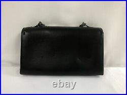 New Valentino Va Va Voom Black Leather Painted Eagle Rockstud Chain Bag $2295.00