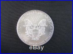 Nice 20 coin Roll of 2008 American Silver Eagles 1 oz. 999 Fine Silver Dollars