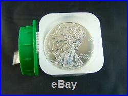 Nice 20 coin Roll of 2014 American Silver Eagles 1 oz. 999 Fine Silver Dollars
