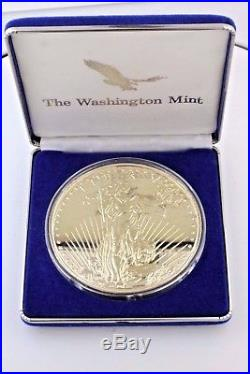 One Pound (16 Ounces). 999 Silver Coins 1994 Kennedy 1/2 & 1994 American Eagle