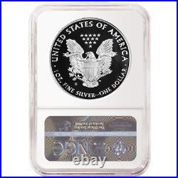 Presale 2020-S Proof $1 American Silver Eagle NGC PF70UC Blue ER Label