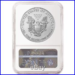 Presale 2020-W Burnished $1 American Silver Eagle NGC MS70 FDI First Label