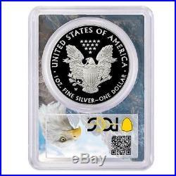 Presale 2020-W Proof $1 American Silver Eagle PCGS PR70DCAM FDOI Eagle Frame