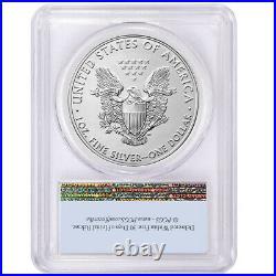 Presale 2021 (P) $1 American Silver Eagle PCGS MS70 Emergency Issue FS Flag La