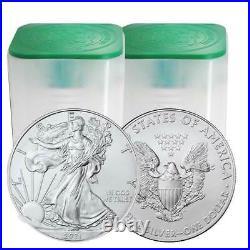 Presale Lot of 40 2021 $1 American Silver Eagle 1 oz Brilliant Uncirculated