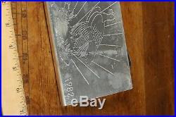 RARE 1981 1982 World Wide Mint American Eagle. 999 Fine Silver 100oz Troy Ounces
