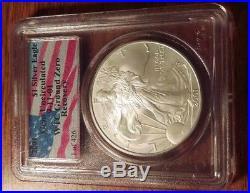 Rare 1 of 426 WTC 2001 American Silver Eagle World Trade Center Recovery PCGS