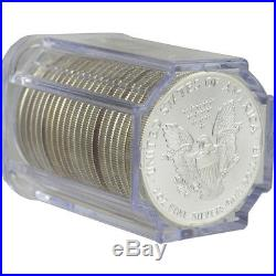Roll of 20 1989 American Silver Eagle NGC Gem Uncirculated