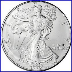 Roll of 20 1996 American Silver Eagle NGC Gem Uncirculated