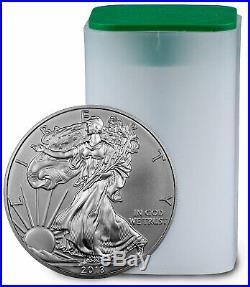 Roll of 20 2013 1 oz Silver American Eagle $1 Coins Gem BU SKU27335