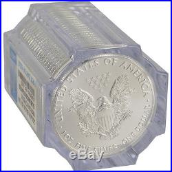 Roll of 20 2016-(W) American Silver Eagle NGC Gem Uncirculated First Day Issue
