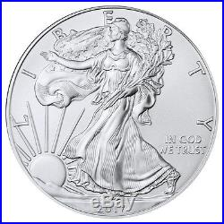 Roll of 20 2017-(P) Silver Eagle Struck at Philadelphia NGC GEM Unc FDI SKU48914