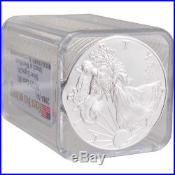 Roll of 20 2018-(W) American Silver Eagle PCGS Gem BU First Day of Issue