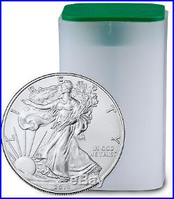 Roll of 20 2019 1 oz American Silver Eagle $1 GEM BU PRESALE SKU55907