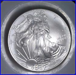 Roll of 20 Coins 2010 American Silver Eagle $1 GEM BU