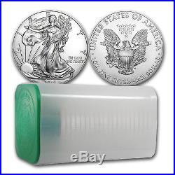 SPECIAL PRICE! PRESALE- 2018 1 oz Silver American Eagle Coin BU (Lot of 20)