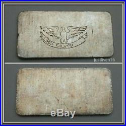 Scarce Ultra Rare Type 1 W. H. FOSTER INC. Eagle 1 oz Silver Bar ONLY 500 Minted